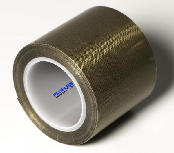 PLOFLON PTFE-Klebeband mit Silikonkleber. Gesamtlänge 10m Rolle