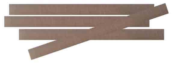 PLOFLON PTFE-Klebestreifen, selbstklebend mit Silikonkleber.