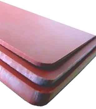 PLOFLON® Silikon-Gummimatte, hohe Hitzebeständigkeit, verschiedene Abmessungen.in Profi-Qualität