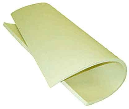 PLOFLON® Silikongummischaum als Formatware (1000mm x 600mm).in Profi-Qualität
